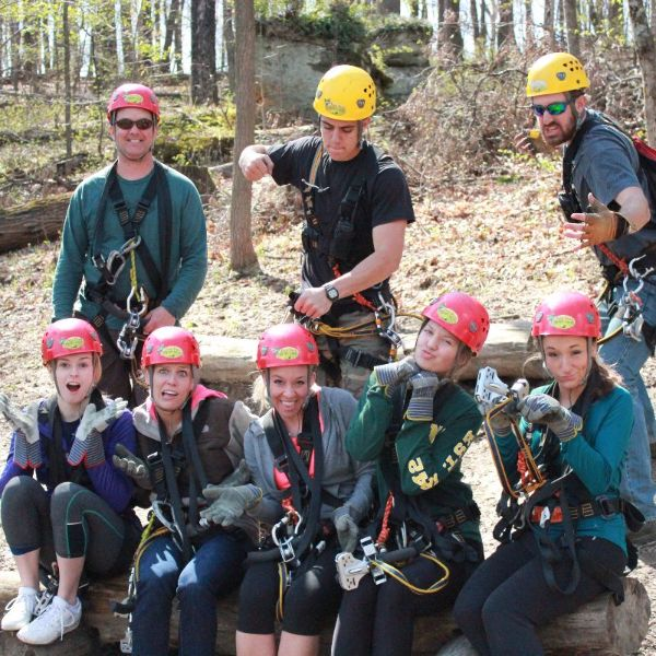 Group Zip Tours | Tree Frog Canopy Tours Loudonville Ohio