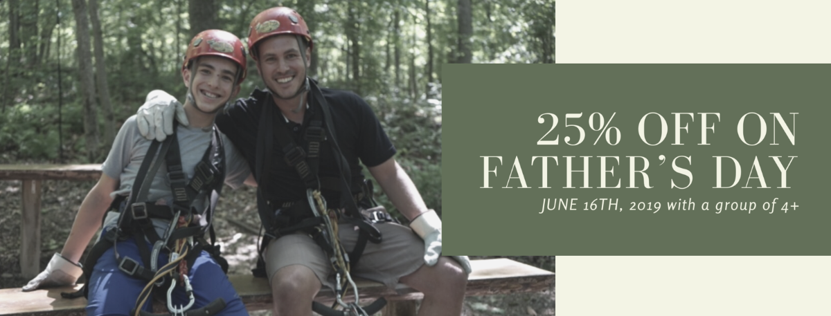 Zip with us on Father's Day!